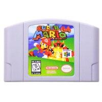 N64Game супер Mariod 64 видео игры Картридж Консоли Карты Английская литература США версия (можно сохранить)