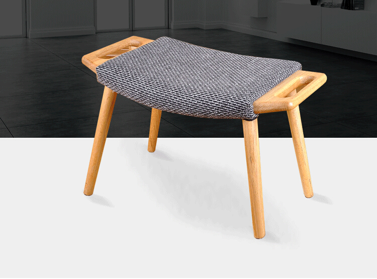 Furniture Objective Cloth Stool Home Fashion Living Room Sofa Coffee Table Stool Solid Wood Stool Small Chair Creative Adult Small Bench Sale Price Children Furniture