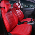 Cubierta de asiento de coche de cuero personalizado HLFNTF para Honda Civic Accord Fit elemento liberado Life Zest accesorios de coche estilo de coche