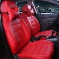 HLFNTF пользовательские кожаные чехлы для автомобильных сидений для Honda Civic Accord Fit Element Freed Life Zest автомобильные аксессуары автостайлинг