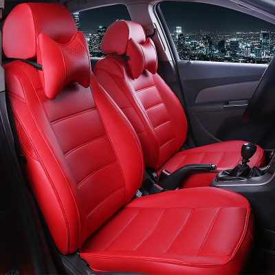 HLFNTF Custom leather Car Seat cover For Honda Civic Accord Fit Element Freed Life Zest car accessories car-styling