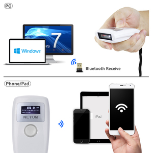Image 4 - NETUM Z2S Bluetooth 1D 2D QR Bar code Scanner AND Z3S Bluetooth CCD Barcode Scanner Wireless Reader for Mobile Payment Screen