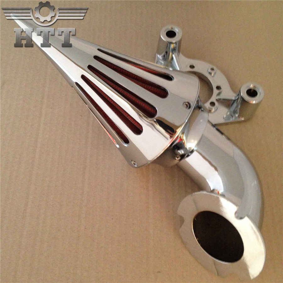Aftermarket free shipping motorcycle parts Spike Air Cleaner kits for Harley Davidson 1991-2006 XL models sportstar Chrome aftermarket motorcycle parts chrome spike air cleaner for yamaha road star 1600 xv1600a 1700 xv1700 1999 2012