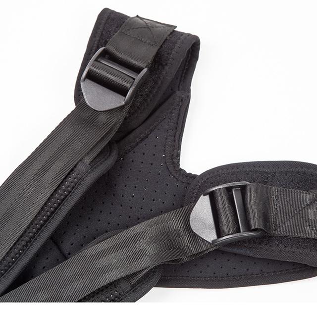 UNISEX Corrector ajustable corrector de postura Lumbar del hombro postura de corrección de cinturón de apoyo