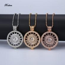 Xuben дизайнерская цепочка из бисера Подвеска розового золота
