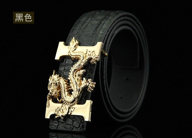 ⃝Dandali hombres de lujo de alta calidad de cuero marrón cinturón ... 7a3adde3ca9