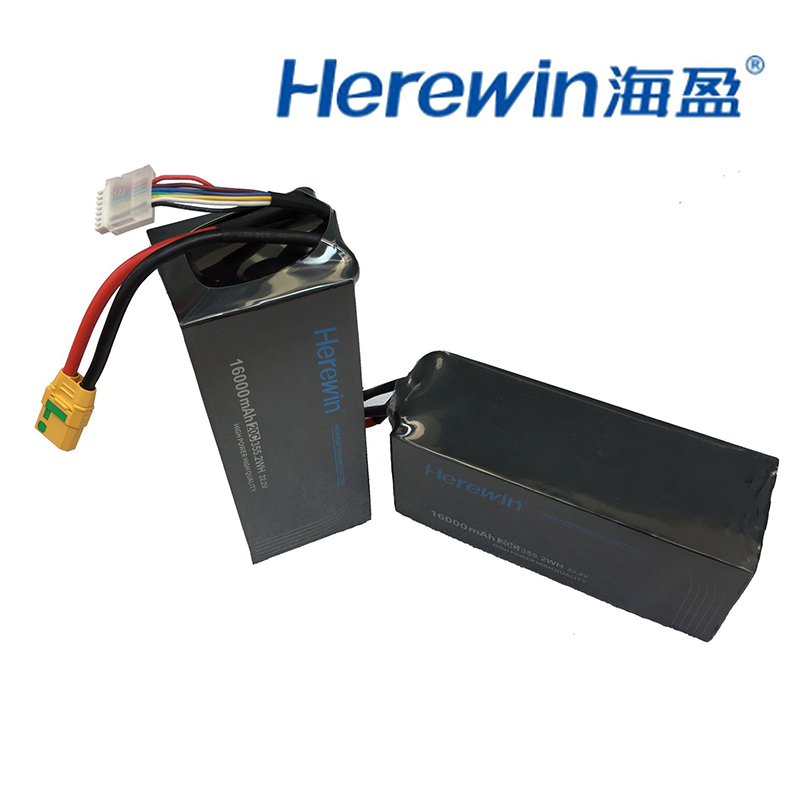 Herewin 16000mah Batterie 22.2v 20C arbre batterie de protection des plantes Agricoles aéronef sans pilote (UAV) batterie