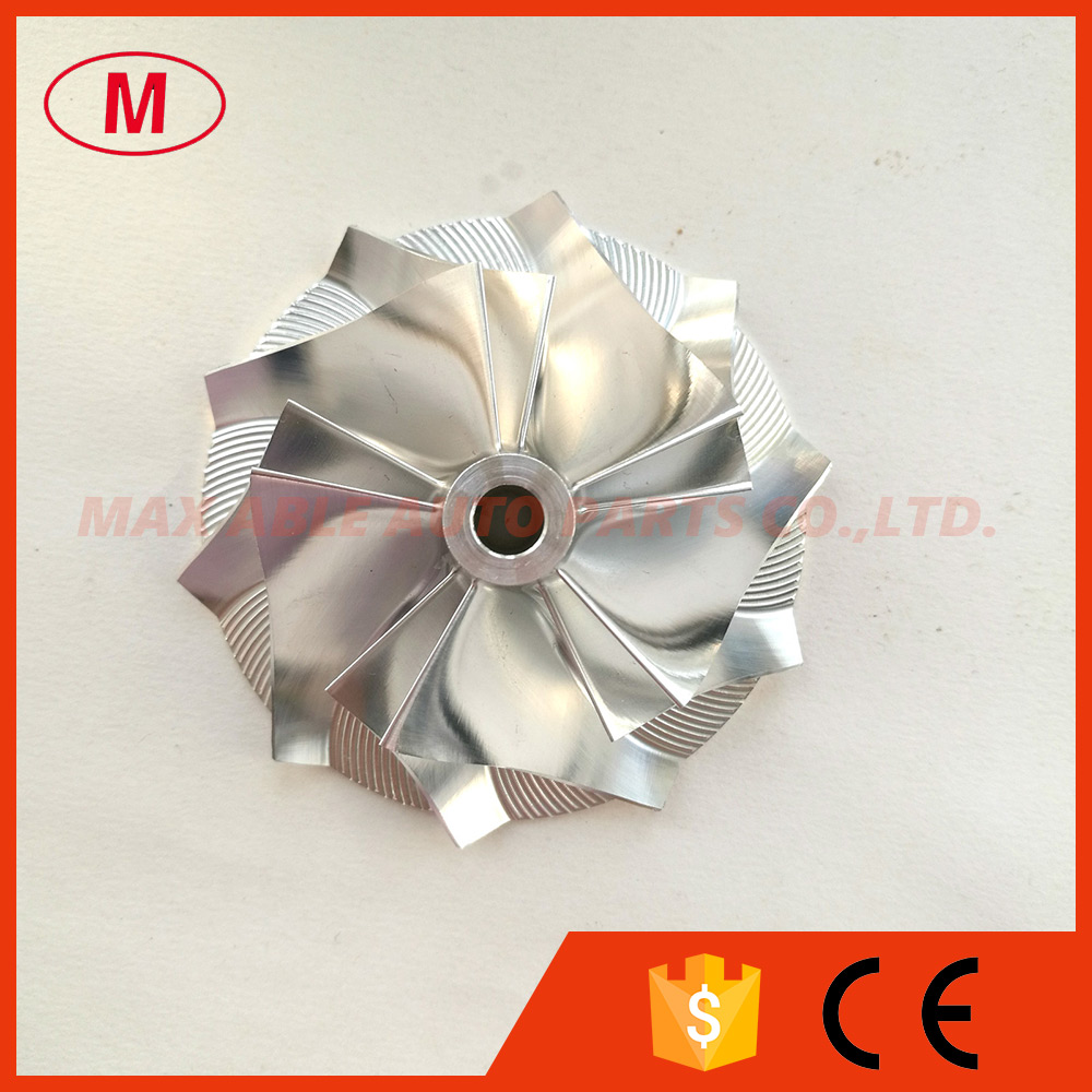 US $61 0 |CT26 High Performance Turbocharger Aluminum 2618/Milling/Billet  compressor wheel 48 04/68 00mm 5+5 blades for Turbo CHRA/Core-in Air  Intakes