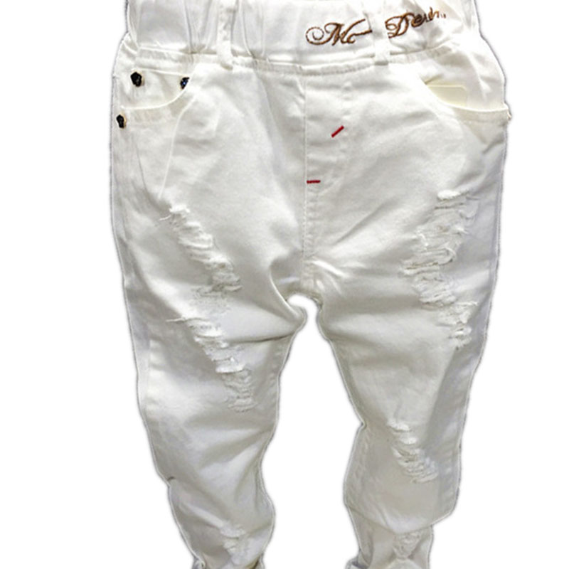 Online Buy Wholesale boys white jeans from China boys white jeans