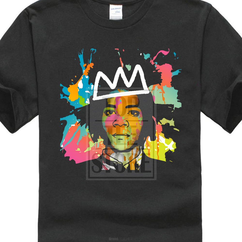 Jean Michel Basquiat T Shirt Graffiti New York 70 S 80 S 90 S