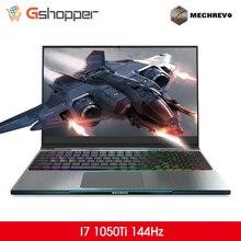 MECHREVO Z2 I7 1050Ti 1060 144 15,6 дюймов Intel 8th игровой ноутбук Windows 10 Тетрадь i7-8750h 1 ТБ механическая клавиатура