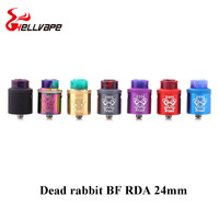 Original Hellvape Dead Rabbit BF RDA Tank Aluminum Supports Single Dual Coil Vape For Elctronic Cigarette
