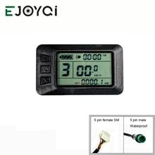 EJOYQI KT lcd 7 ebike дисплей с USB электрической велосипедной панелью ЖК-дисплей 36 в 48 в e велосипед электрический велосипед ЖК-дисплей смарт-управление