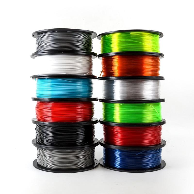 1kg PETG 3D Printer Filament/Consumables PETG Material for 3D Printer