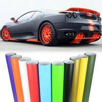 152cm x 1800cm Matte Vinyl Film Piano Car Boat Trucks Computer Phone Gloss Wrap Adhesive Air Bubble Free Car Wrapping Sheet