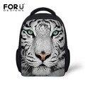 Новый 12 дюймов дети животных рюкзак мальчик школьные сумки, тигр глава рюкзак 3d печати bagpack, маленький ребенок рюкзак ребенок mochila