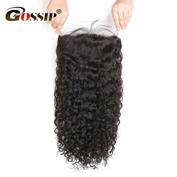 Brazilian Remy Hair Water Wave Full Lace Human Hair Wigs For Black Women Gossip Glueless Full Lace Wig Human Hair With Baby Hair