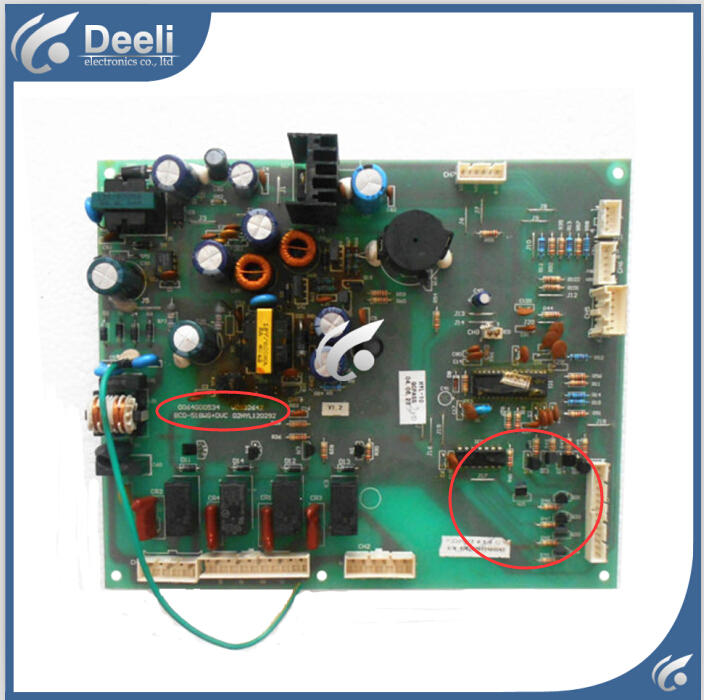 95% new good working 100% tested for Haier Refrigerator BCD-518WS computer board 558WB 0064000534 good working 95% new for haier refrigerator computer board circuit board 0064000230d bcd 228wbs bcd 228wbsv driver board good working