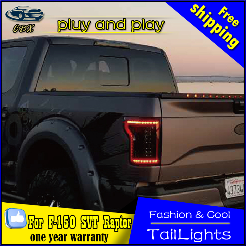 2016 F150 Tail Lights >> Car Styling Tail Lamp For Ford Raptor F150 2015 2016 Tail Lights Led