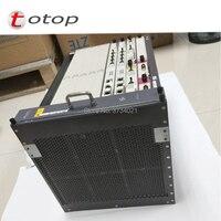 Huawei MA5683T gpon olt 1G Fttb/Fttc/Ftth EPON OLT Chassis+2xSCUN+2xPRTE+2x X2CS+GPFD C+