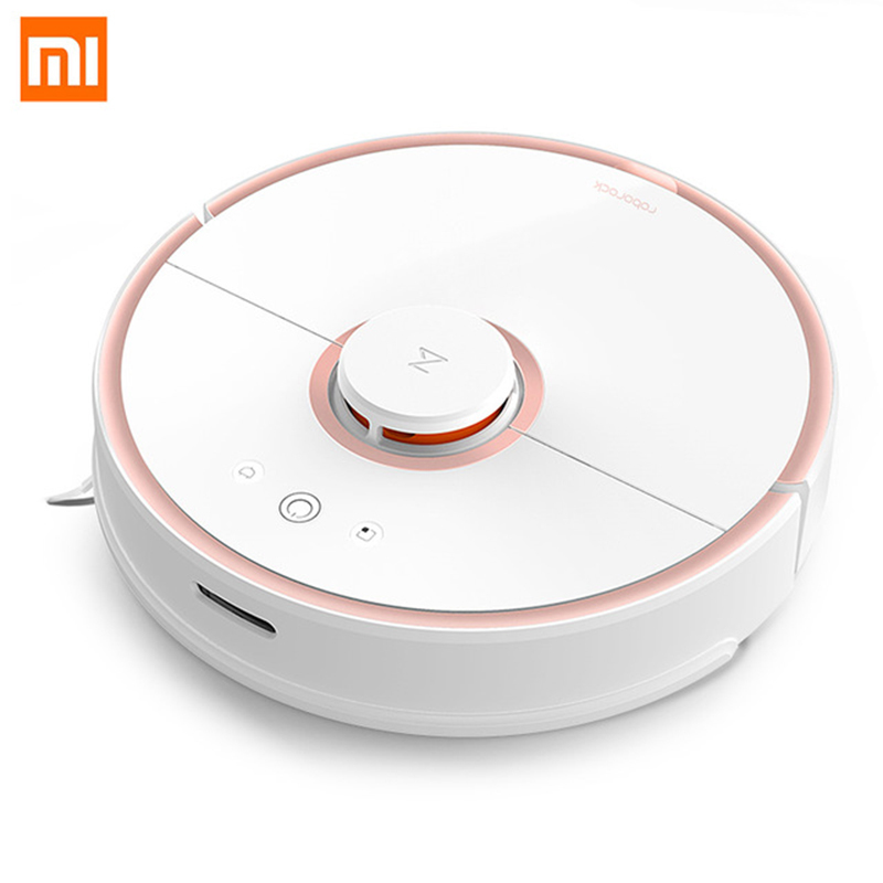 Xiaomi Roborock S50 Cleaning Robot 2nd Vacuum Cleaner Mopping Sweeping Laser Guidance Powerful Suction LDS Wi-Fi Fast Link smart sweeping robot vacuum cleaner for home ultrathin grazing mopping integrated machine free shipping