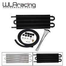 WLR-Универсальный 4 ряд 305X127X19,05 Алюминиевый Масляный радиатор с дистанционной передачей/автоматический ручной радиатор конвертер WLR7432