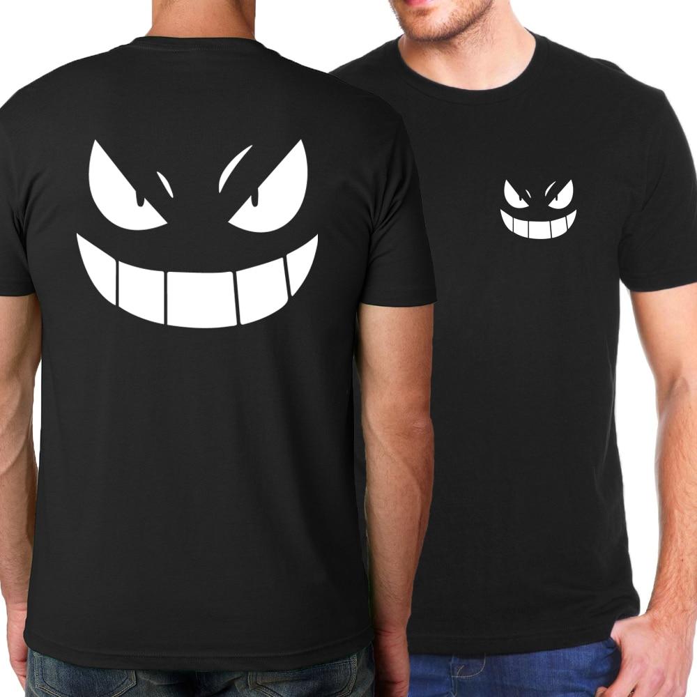 Men T-Shirts 2019 Summer Japanese Anime One Piece Luffy/Bleach/Naruto Uzumaki/T Shirt Men 100% Cotton Brand-Clothing