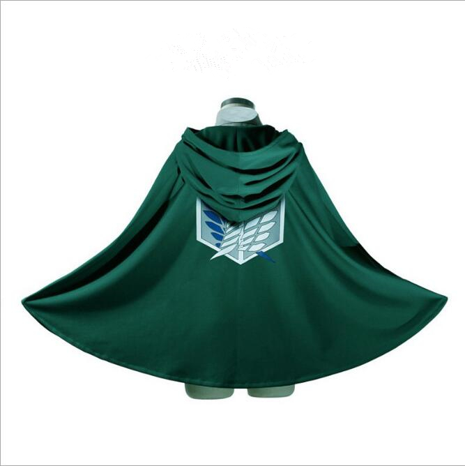 Clearance attack on the Titans cloak Shingeki no kyojin Scouting Legion Cosplay Costume  ...