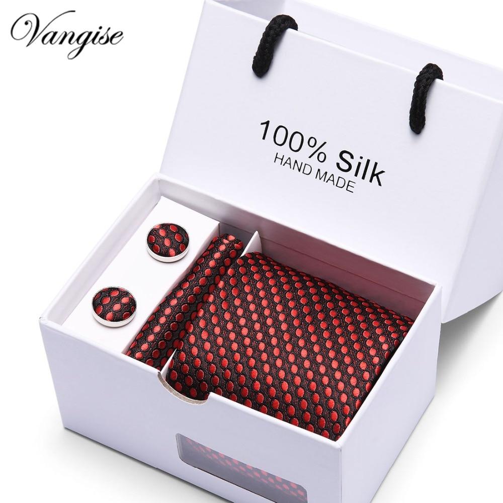 100% Silk Tie Skinny 7.5 Cm Dot Necktie High Fashion Plaid Ties For Men Cravat Neckties Mens 2019 Gravatas Best Gift For Men