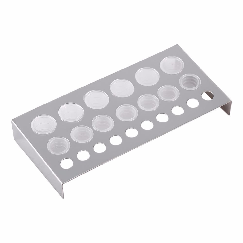 100PcsSet Clear Tattoo Ink Caps Cup Ink Pot Plastic Microblading Paint Pigment Cups Holder for Needle Grip Tattoo Accessories