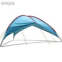480*480*480*210cm Ultralight Sunshelter Anti UV Waterproof Sun Shelter Super Large Beach Tent 210T Polyester Cloth Camping Tent
