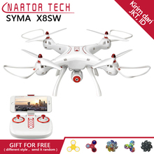 New Arrival SYMA RC Drone X8SW X8HW Upgrade with FPV Wifi Camera RC Helicopter Quadcopter