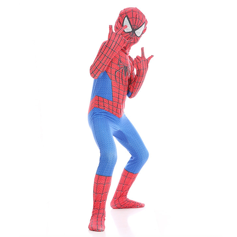 Kids Spiderman Homecoming costume Spandex Zentai Civil War Spiderman Costumes Superhero Halloween Cosplay Costume Movies Suit