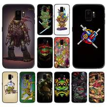 Teenage Mutant Ninja Turtles soft phone cover case for Samsung Galaxy S6 S7 S8 S9 S10e Plus Note 8 9 CASES(China)