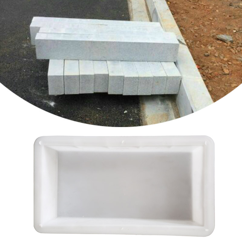 Stepping Stone Mold Pavement Road Concrete Brick Moulds DIY Mold Plastic Garden Tools Path Maker Cement Paving Home Yard Decor