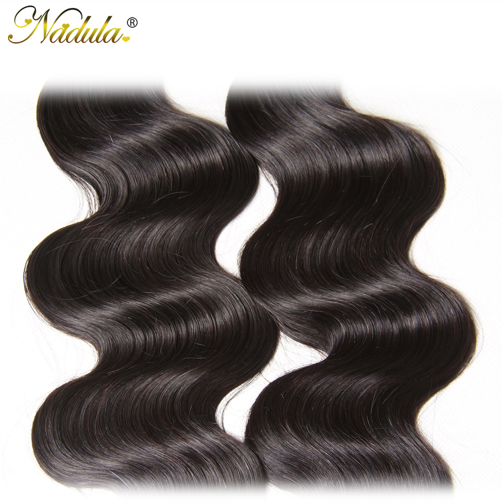 Nadula Hair  Body Wave Hair 3piece/Lot  Bundles 8-30inch  Hair s  5