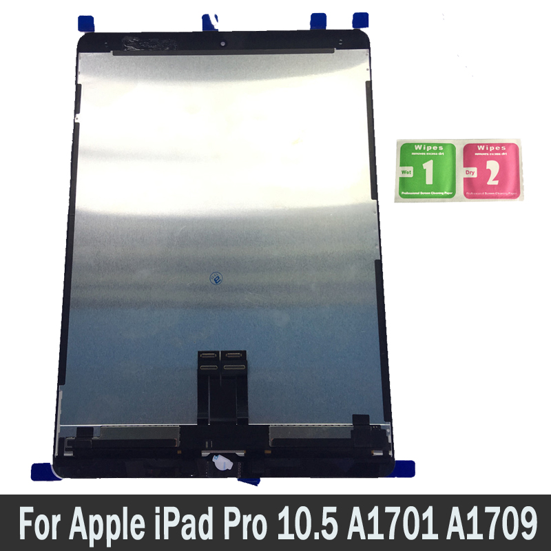 100% New LCD For Apple iPad Pro 10.5 A1701 A1709 Lcds Display Touch Screen Digitizer Sensors Assembly Panel Replacement Parts100% New LCD For Apple iPad Pro 10.5 A1701 A1709 Lcds Display Touch Screen Digitizer Sensors Assembly Panel Replacement Parts