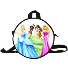 10 9-Inch Cartoon Backpack Children Bags For School Kids Boys Hero SuperMan Chima Round Backpack For Children For Boy Quality