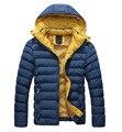 Quente Hoodie Hoodey Parka Casaco Casaco de Inverno Outwear Jaqueta-4 Cores M-XXL
