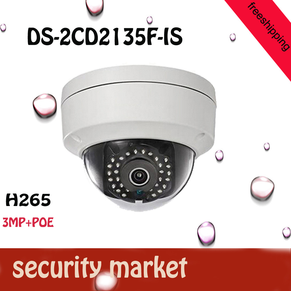 2016 HOT DS-2CD2135F-IS cctv camera 1080P Audio Alarm I/O POE IP camera TF Card Slot freeshipping touchstone teacher s edition 4 with audio cd