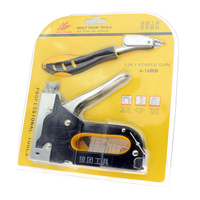 Nail Staple Gun With Puller Staple Remover Stapler For Wood Furniture Upholstery With 1200 Pins And