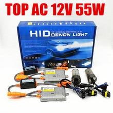 1 year  warranty top quality AC 12V 55w fast bright xenon h1 h3 h7 h11 hb4 hb3 9012 hid headlight h8 h9 9005 9006 5500k