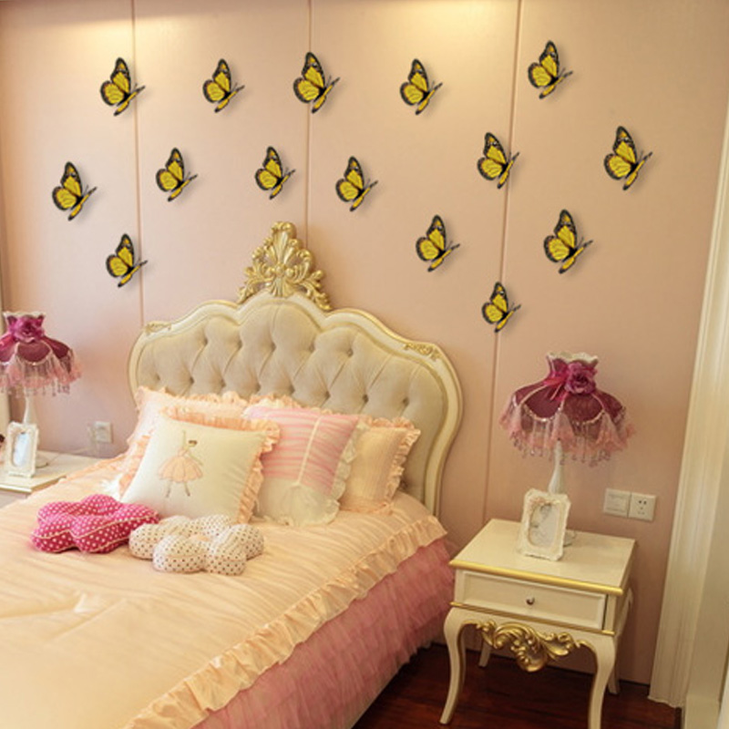 Magnificent How To Make A Butterfly Wall Decoration Sketch - All ...