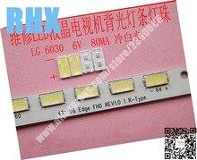 Profesional de mantenimiento del LG led TV LCD luz de fondo luz accesorios de bar con SMD granos de la lámpara 6 V 6030 blanco frío luz
