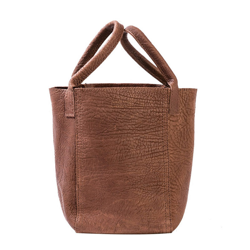 Woman Bucket Bag 2019 Spring And Summer Hot Fashion Simple Handmade Shoulder Bag Luxury High Quality Genuine Leather Hand BagsWoman Bucket Bag 2019 Spring And Summer Hot Fashion Simple Handmade Shoulder Bag Luxury High Quality Genuine Leather Hand Bags