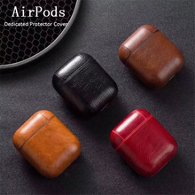 Luxury Case for Airpods Bluetooth Wireless Earphone Cover i10 tws Leather Protective With Hook For 2 i80 i60
