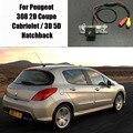 Камера Заднего вида Парковочная Камера/Камера Заднего Вида Для Peugeot 308 2D Купе Кабриолет/3D 5D Hatchback/Номерной знак Лампа OEM