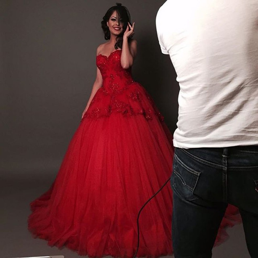 Red Vintage Ball Gowns