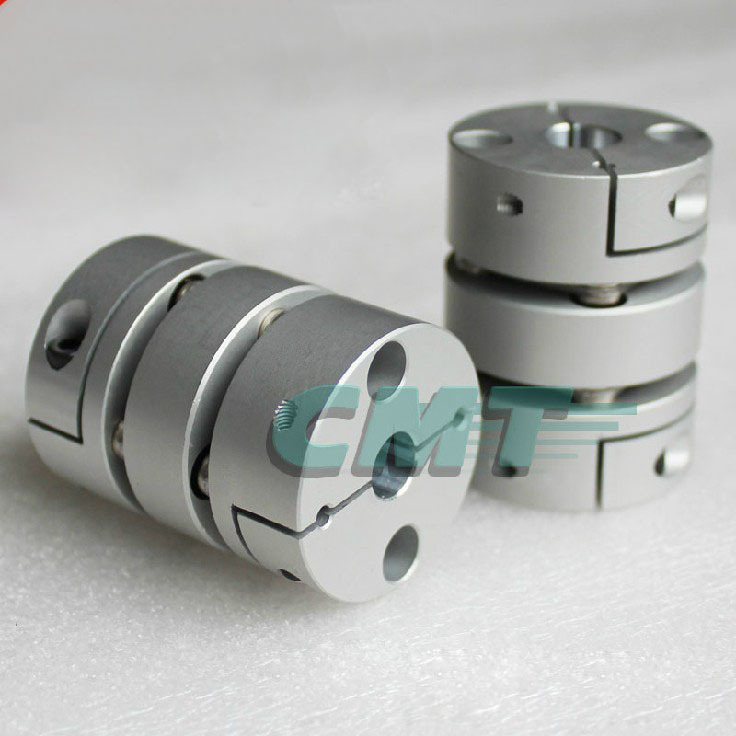 New Flexible Aluminum alloys double diaphragm coupling for servo and stepper motor coupling D=68 L=75 ,D1 and D2 are 14 to 35 MM new frame model aluminum alloys single diaphragm coupling fit servo and stepper motor shaft coupler d 68 l 54 d1&d2 at 15 25mm