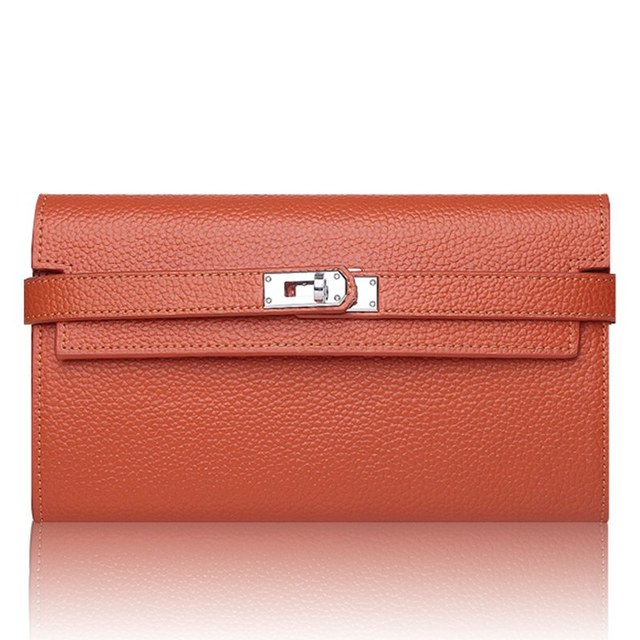 High Luxury Womens Wallets And Purses Long Wallet Women Solid Hasp